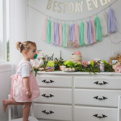 Happy 2nd Birthday Our Love {Pastel Pretty Party}