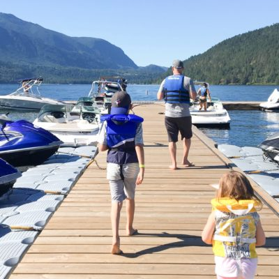Family Day At Cultus Lake Marina