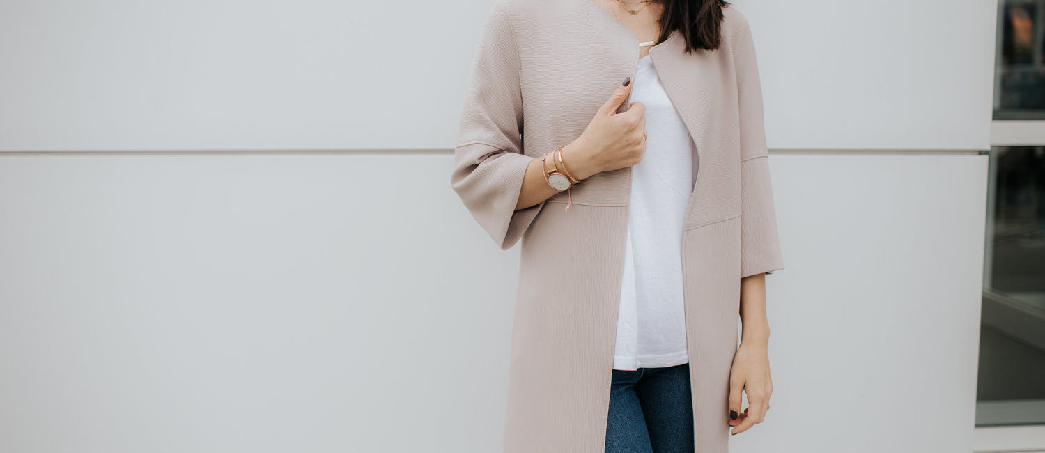 The Pink Jacket   Tuesday Trend