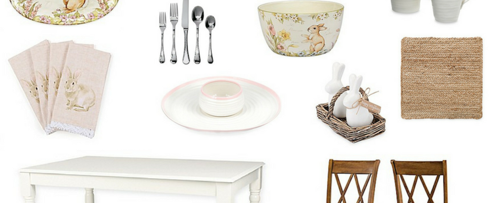 Spring TableScape with Bed Bath & Beyond