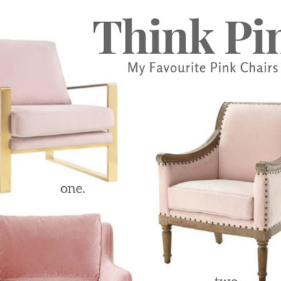 THINK PINK | My Favourite Pink Chairs