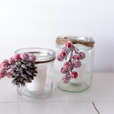 Giving Used Candle Jars New Life | DIY