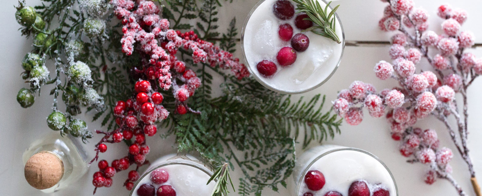Coconut Cranberry Bliss   Holiday Mix Drink with Patron