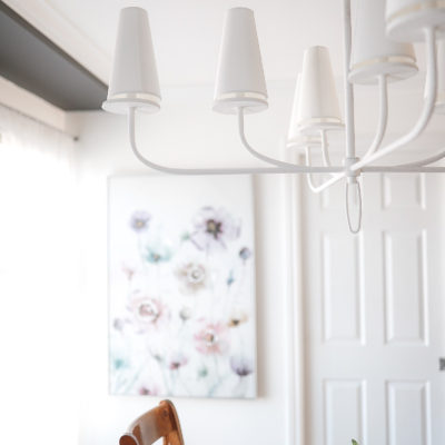 Finding That Perfect Dining Room Light | Before & After