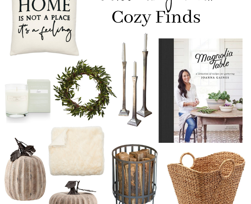Welcoming Fall with These Cozy Finds