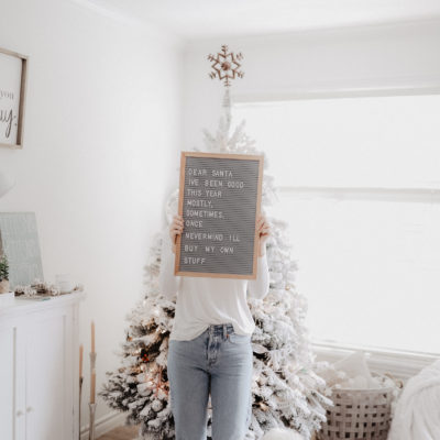 10 Hilarious Holiday Letter Board Quotes