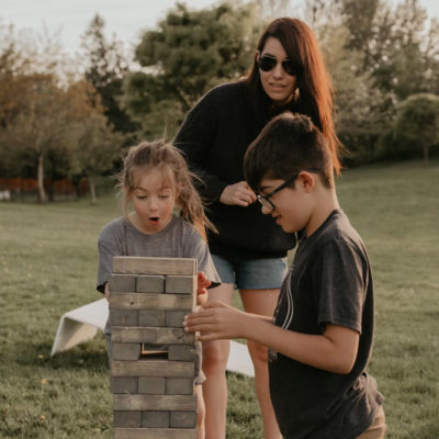3 Make Your Own Outdoor Lawn Games Washer Toss | Tower Stacking | Bean Bag Toss