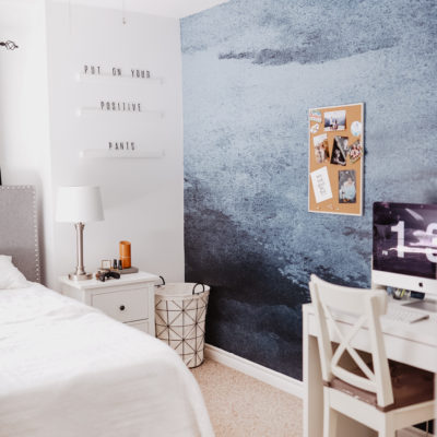 Storm Chaser Feature Wall with Rocky Mountain Decals | Owens Room